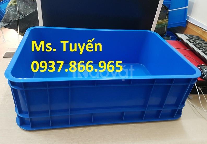 Thùng nhựa đặc B1 giá rẻ