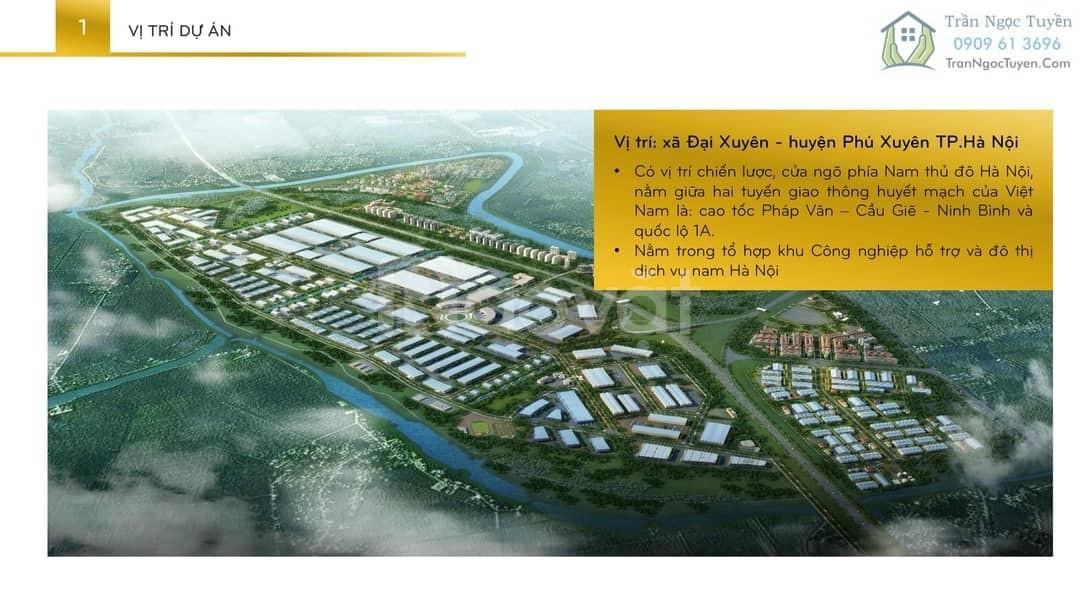 Bán suất ngoại giao tại dự án Phú Xuyên New City, Hansip phú xuyên