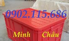 Thùng nhựa cơ khí, thùng nhựa đựng phụ tùng, thùng nhựa đựng vật tư