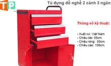 Tủ đựng đồ nghề sửa chữa 2 cánh 3 ngăn