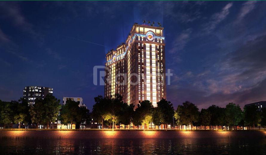 5,8 tỷ vào ở luôn căn hộ 2 ngủ 112m2 dự án D'.Le Pont Dor - Hoàng Cầu