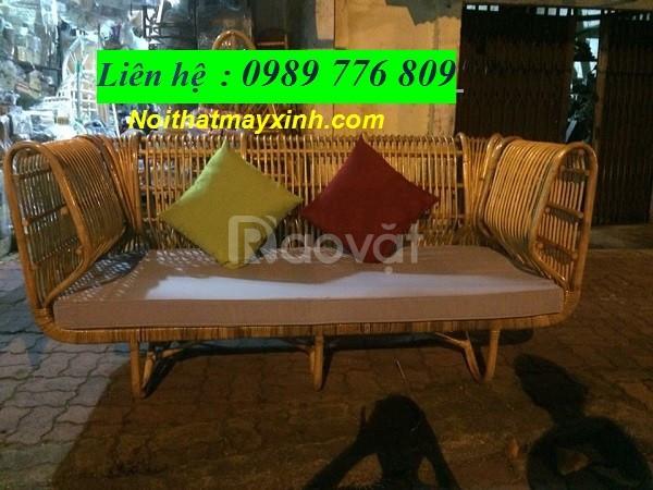 Bàn ghế sofa mây tre đan giá rẻ