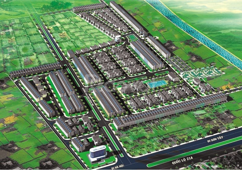 Đất liền kề biệt thự khu CNC Hòa Lạc sổ đỏ chỉ từ 950tr/lô giá gốc CDT