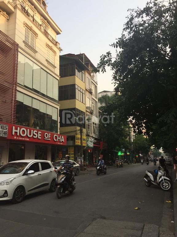 Nhà phân lô, ôtô, kinh doanh phố Phan Văn Trường 30m2 x 5T chỉ 5.5 tỷ