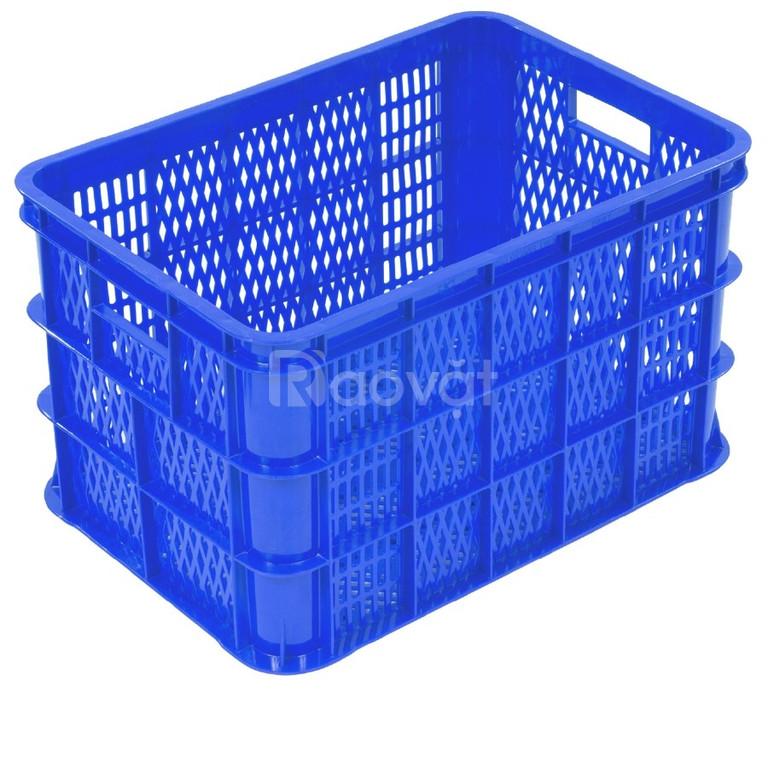 Giá sỉ sóng-kết-rổ đựng hàng hóa, rau củ nhựa tốt Đại Đồng Tiến