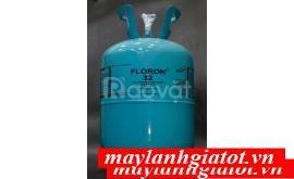 Thành Đạt phân phối các loại gas lạnh Floron: R32 9KG, R22, R410,..