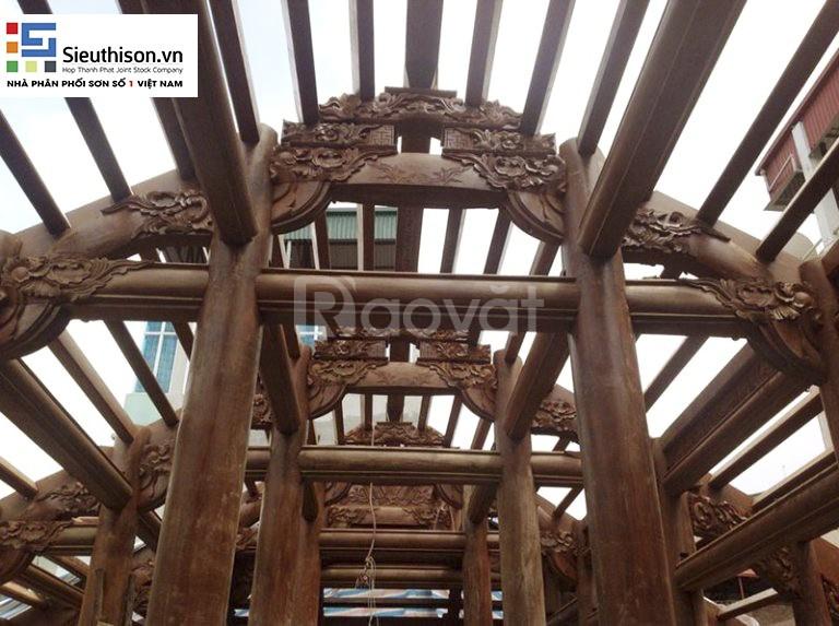Đại lý sơn PU & NC gỗ chính hãng chất lượng cao