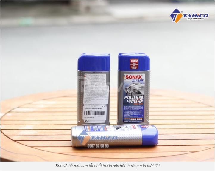 Dung dịch xoá xước – Đánh bóng – Bảo vệ Sonax Xtreme Wax 3 in 1 Hybrid