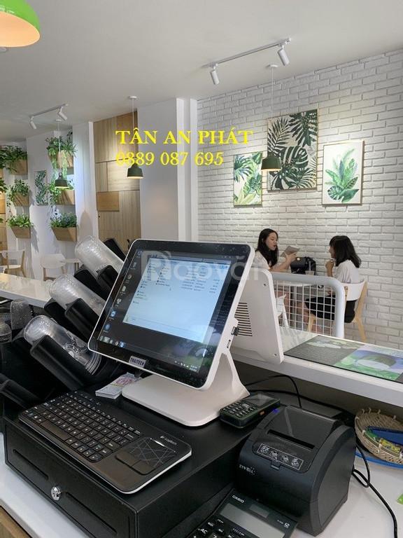 Cung cấp máy tính tiền cho quán cà phê, trà sữa tại Buôn Ma Thuột