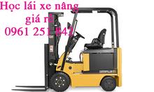 Thi bằng lái xe nâng giá rẻ bao đậu tại Long Thành Đồng Nai