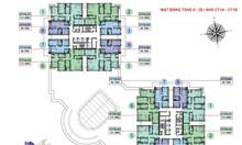 Căn hộ số 08 tòa CT1B, cửa chính Đông Nam chung cư Iris Garden