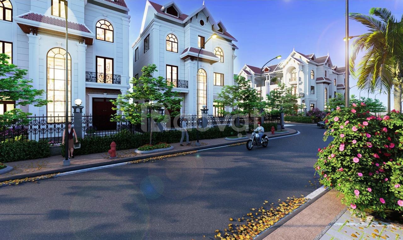 Đất liền kề biệt thự khu sân golf quốc tế Đồng Mô chỉ với 900tr/lô