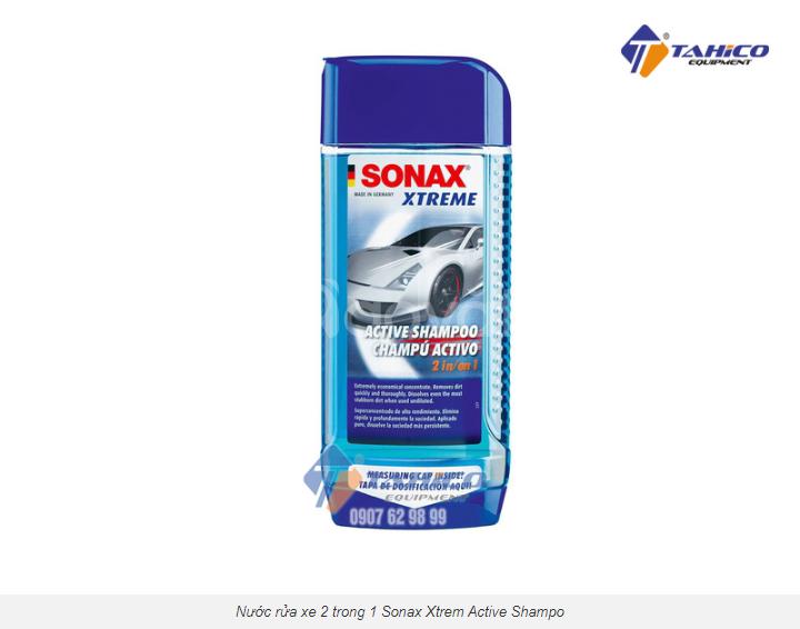 Nước rửa xe 2 trong 1 Sonax Xtrem