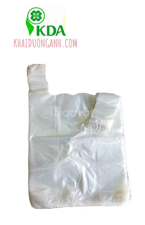 Bọc xốp hàng chợ, túi quai xốp siêu thị, túi quai phân hủy sinh học  (ảnh 4)