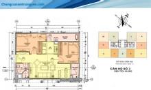 Bán gấp căn hộ 2 ngủ, 65m2 chung cư A10 Nam Trung Yên, giá: 1.95 tỷ