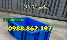 Khay nhựa hà nội B3, thùng nhựa màu xanh lá, thùng nhựa đặc,khay đựng