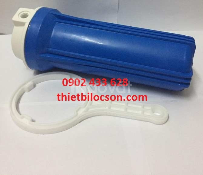 Cốc lọc 1 lõi nhựa PP lọc cặn kim loại, tạp chất trong nước
