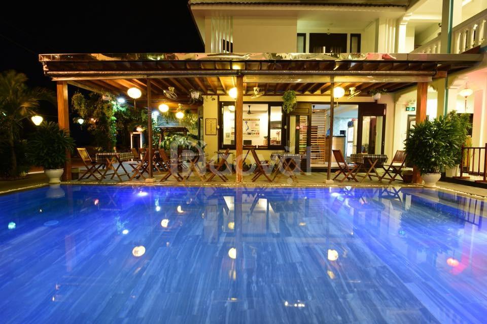 Cần làm xưởng SX nên bán villa view sông Trà Quế, Hội An