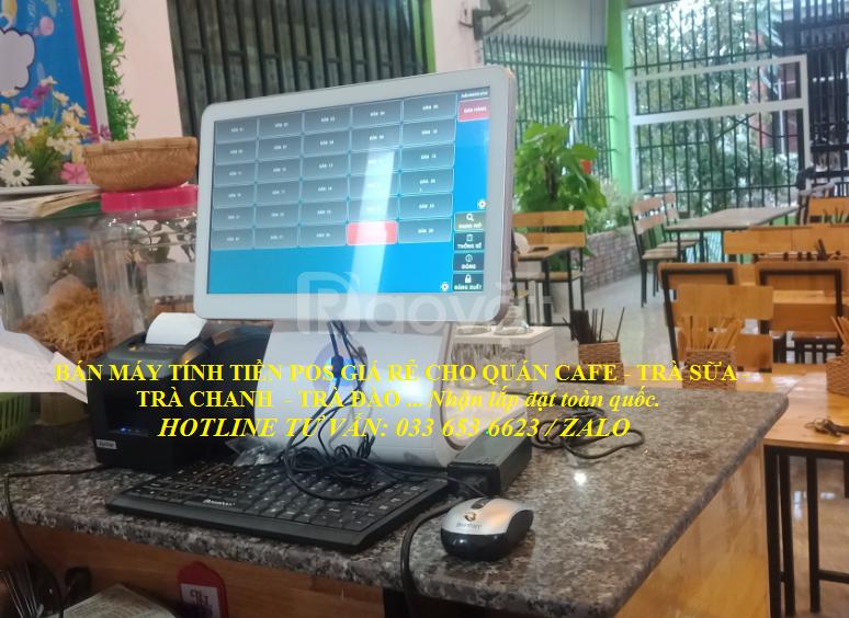 Máy tính tiền pos cho quán ăn giá rẻ tại TP Vũng Tàu