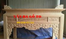 Bàn thờ gỗ gõ đỏ bán tại Hải Dương