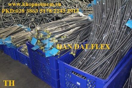 Ống mềm giảm chấn - khớp giãn nỡ inox, dây dẫn nước inox 304