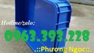Thùng nhựa đặc cao 10, thùng nhựa đựng linh kiện (ảnh 4)