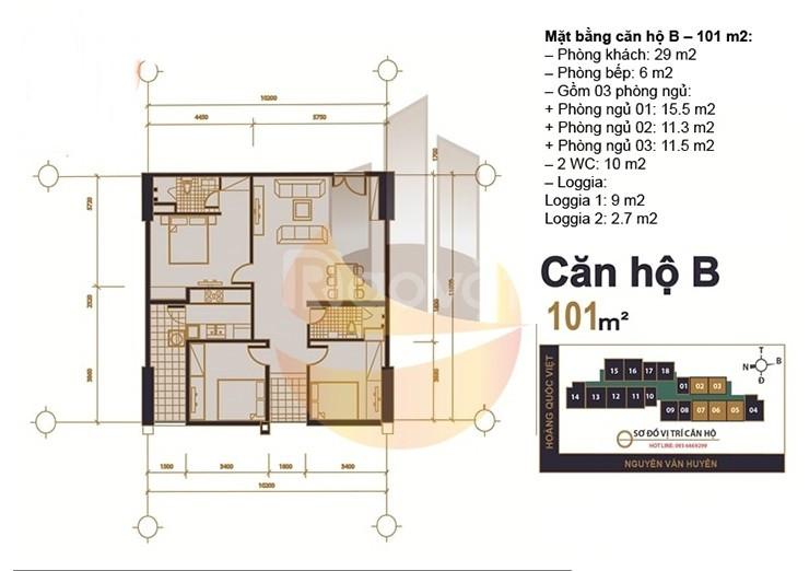 Chính chủ gửi bán cắt lỗ dự án MHDI-60 Hoàng Quốc Việt- chỉ từ 28tr/m2