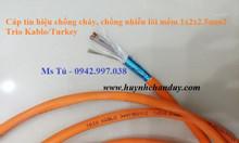 Cáp chống cháy Cu/Silicon/GFT/OSCR/HFFR 2x1.0mm2, 2x1.5mm2, 2x2.5mm2