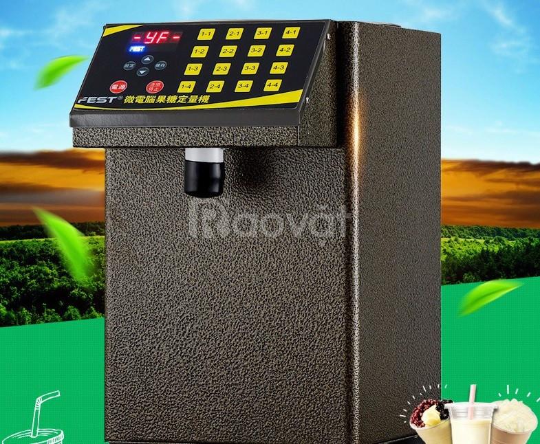 Máy định lượng lượng đường trà sữa trân châu