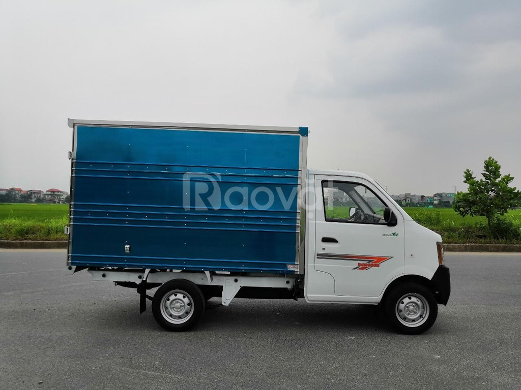 Xe tải giá rẻ, dongben db1021 thùng kín, thiết kế nhỏ gọn