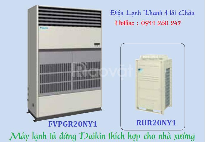 Máy lạnh đứng Daikin nối ống gió 20HP FVPGR20NY1