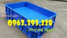 Thùng nhựa đặc cao 10, thùng nhựa đựng linh kiện (ảnh 6)