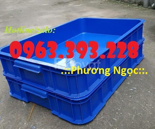 Thùng nhựa đặc cao 10, thùng nhựa đựng linh kiện (ảnh 7)