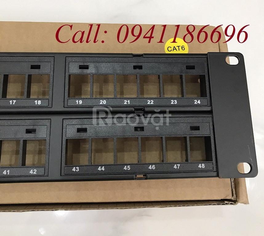 Thanh đấu nối Patch Panel 48 Port COMMSCOPE 760237041 | 9-1375055-2