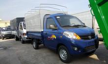 Bán trả góp xe tải foton gratour 1.5l mui bạt 850kg thùng dài 2m3