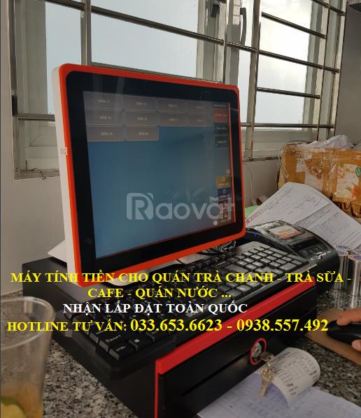 Máy tính tiền cho quán cafe, trà sữa tại Bình Dương, Đồng Nai