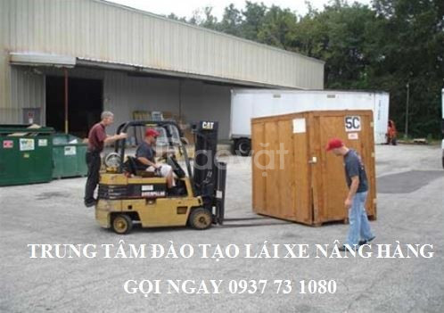 Tuyển sinh khóa học lái xe nâng hàng tại Bình Dương  (ảnh 1)