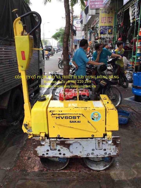 Thuê máy lu rung dắt tay giá rẻ tại Hà Nội