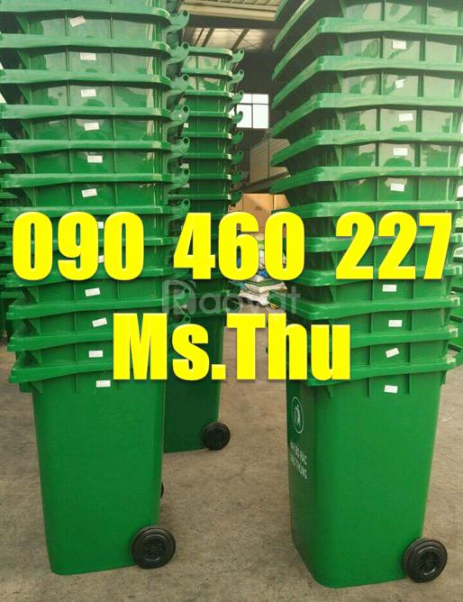 Bán thùng rác 240 lít tại Bình Dương,thùng rác 120 lít giá rẻ Đồng Nai