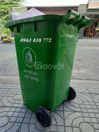 Thùng rác 120 lít - thùng rác 240 lít - thùng đựng rác giá rẻ