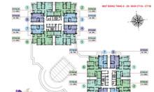 Căn hộ số 07 tòa CT1B, cửa chính Tây Nam chung cư Iris Garden