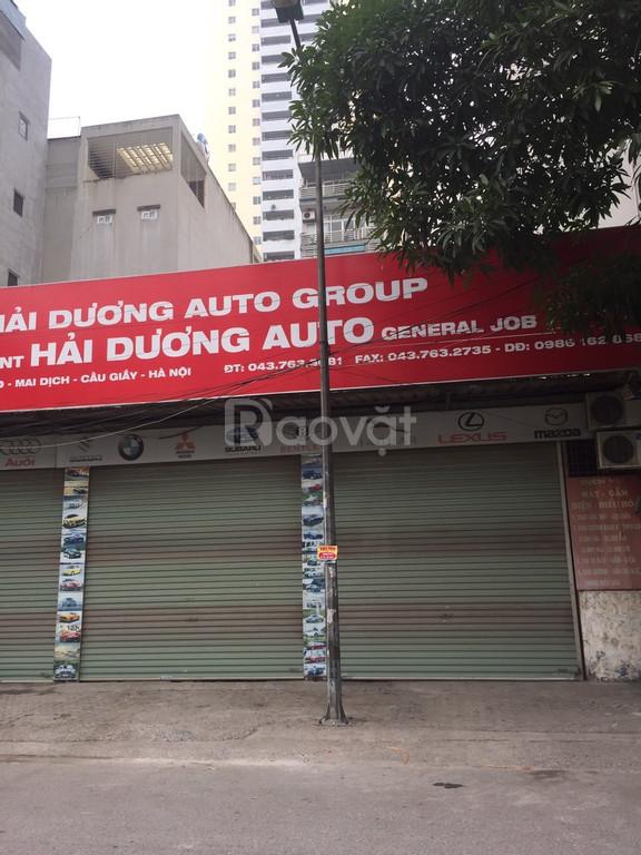 Cho thuê nhà mặt phố Phạm Văn Đồng 80m2 x 2 tầng,mặt tiền 5m giá 26tr.