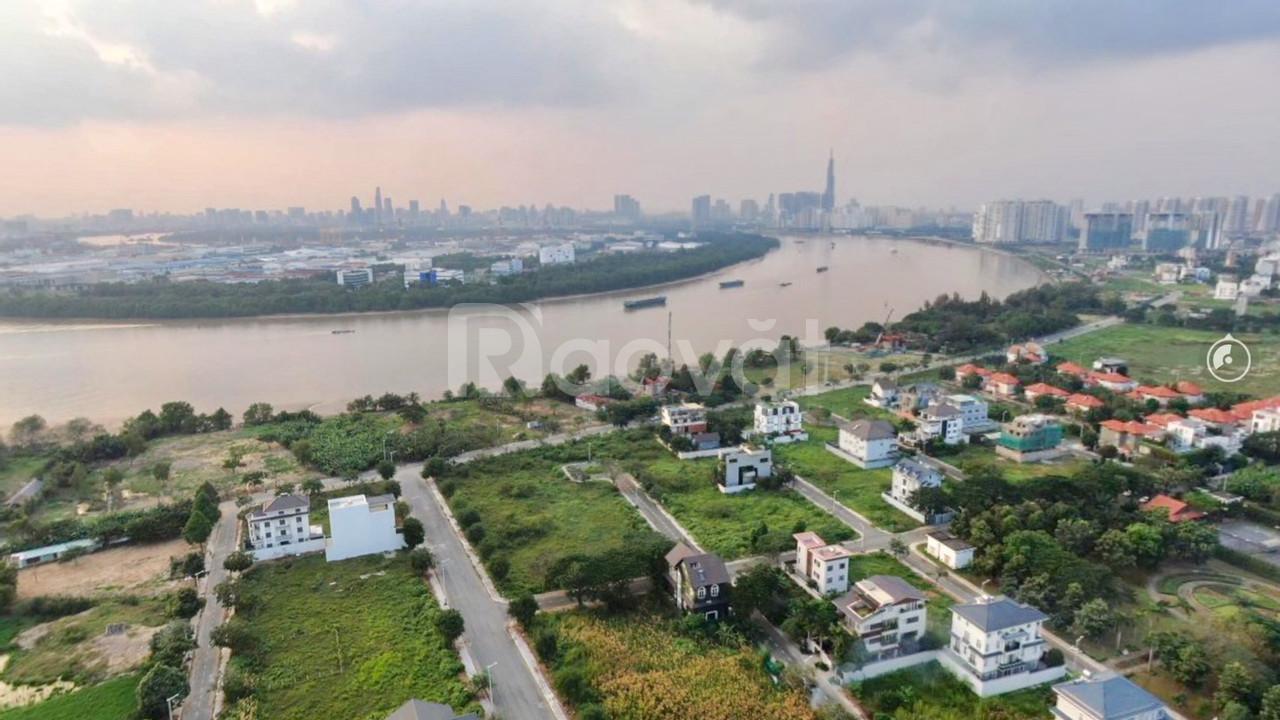 Bán officetel dự án Thủ Thiêm Dragon quận 2, dt 48m2, view sông SG