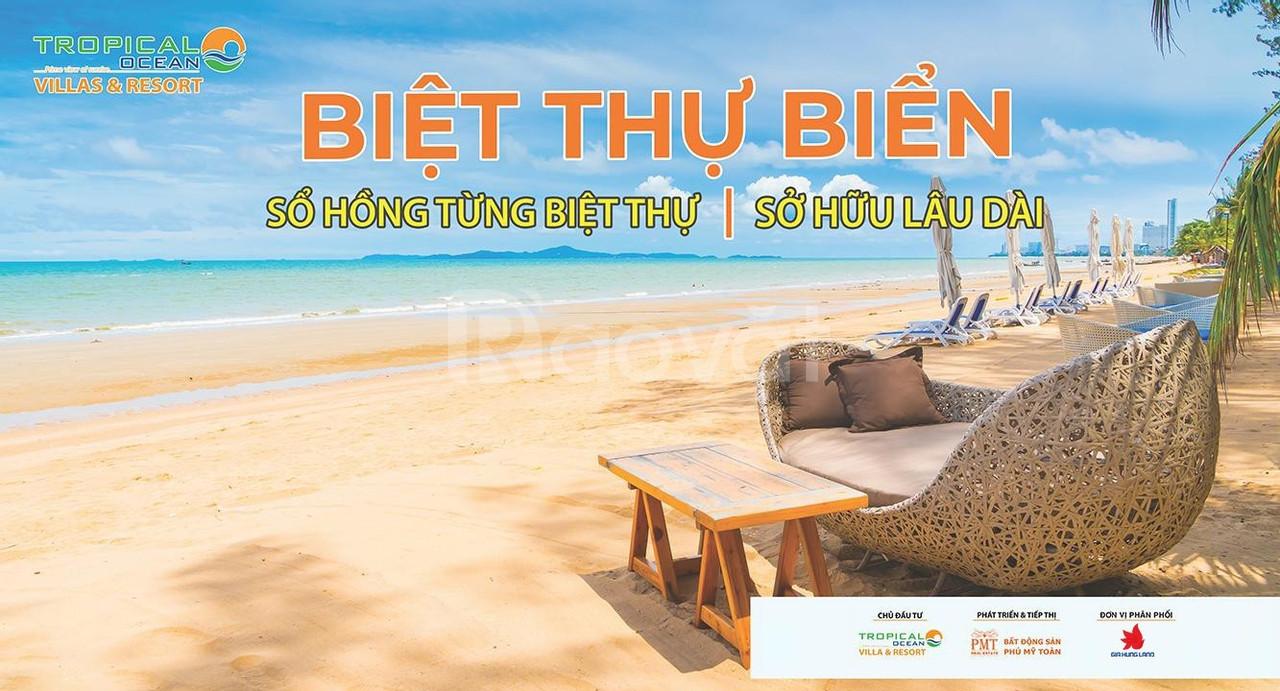 Đất nền biệt thự biển Tropical Ocean Resort, giá chỉ từ 15tr/m2