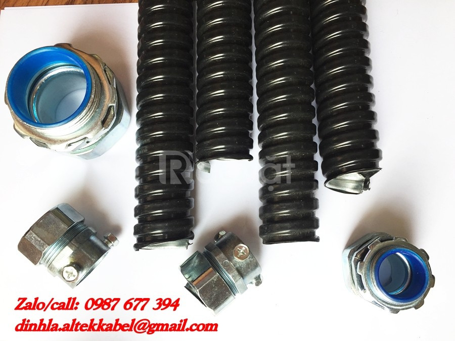 Phân phối ống ruột gà ống thép luồn dây điện nhập khẩu chất lượng cao