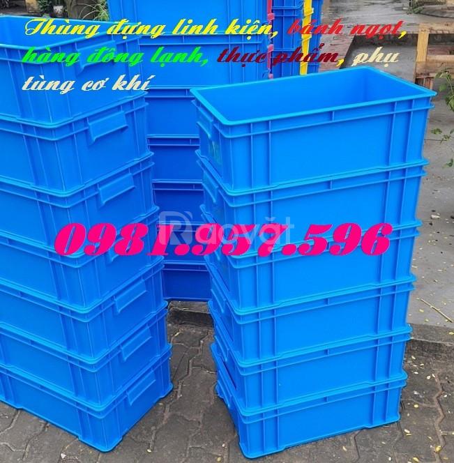 Sóng nhựa đặc B4, thùng nhựa nguyên sinh, hộp nhựa