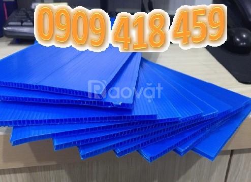 Tấm nhựa pp danpla 3mm, tấm nhựa carton 3mm tại Tp. HCM