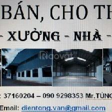Bán nhà + kho 750m2 An Phú Đông Q12