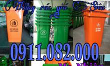 Cần bán thùng rác 120L 240L 660L giá rẻ đại lý- thùng rác nhựa giá rẻ-