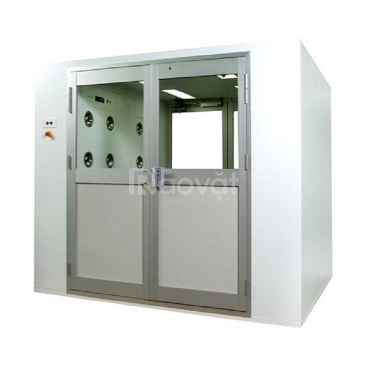Buồng tắm khí - Air shower cho phòng sạch